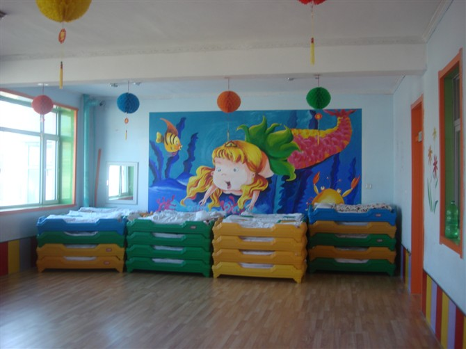 活动大厅,楼层寝室_楼层寝室_榆树佳丽幼儿园