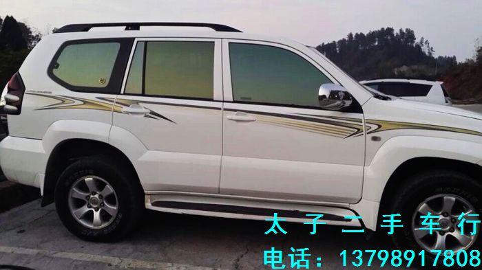 08款丰田霸道2700白色/黄内