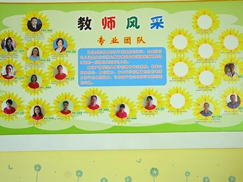 教师幼儿墙面设计图