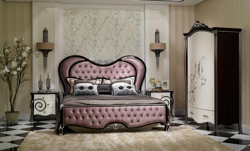 床 床头柜 两门衣柜