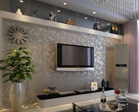 电视背景墙015 西宁墙面软包 西宁背景墙 西宁壁纸店