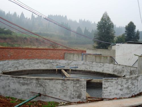 清泉养猪场沼气发电机组案例